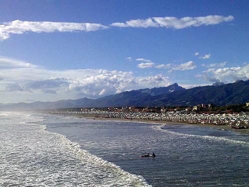 mare spiagge versilia capodanno foto